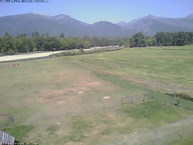 Bitterroot River Webcam - Stevensville, MT